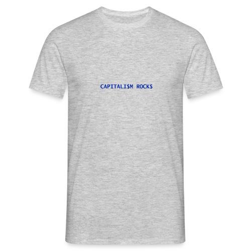 CAPITALISM ROCKS - Maglietta da uomo