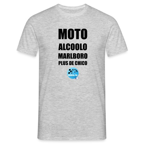 Mixis.fr - Moto Alcoolo Marlboro Plus de Chico... - T-shirt Homme