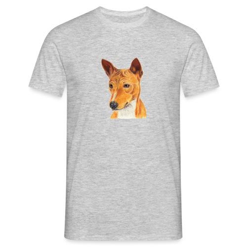 Basenji - Herre-T-shirt