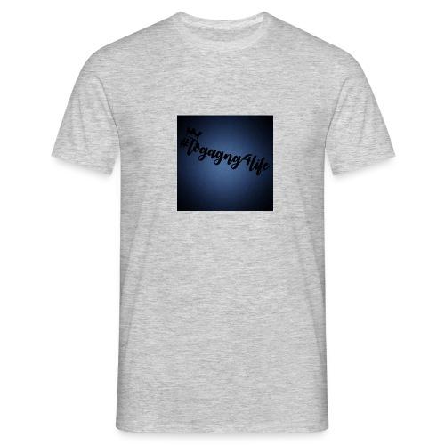 #logagng4life - Men's T-Shirt
