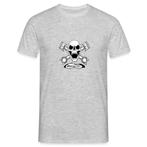 Bergen Bike Life - T-skjorte for menn