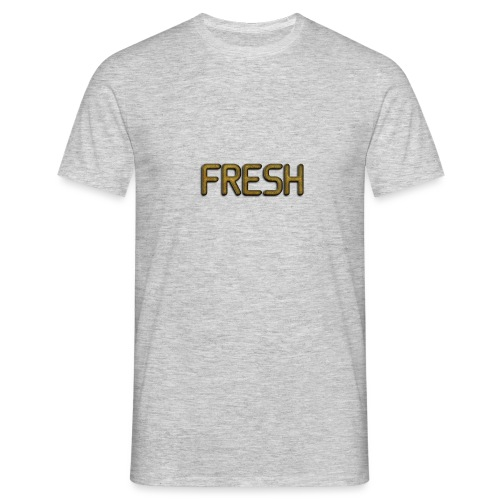 Limited Edition Fresh (Gold) Design - Men's T-Shirt