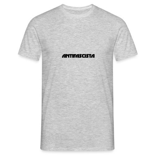 Antifascista svart - T-shirt herr