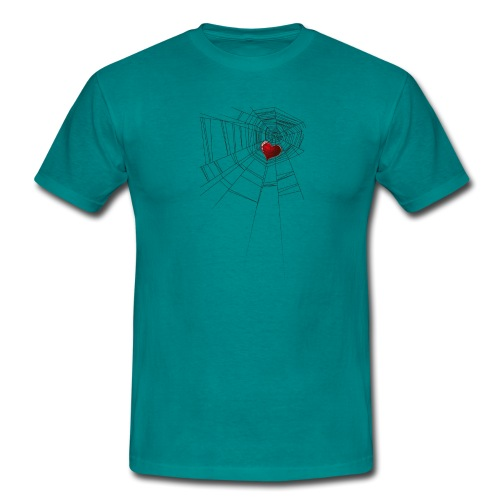 trappola_del_cuore - Maglietta da uomo