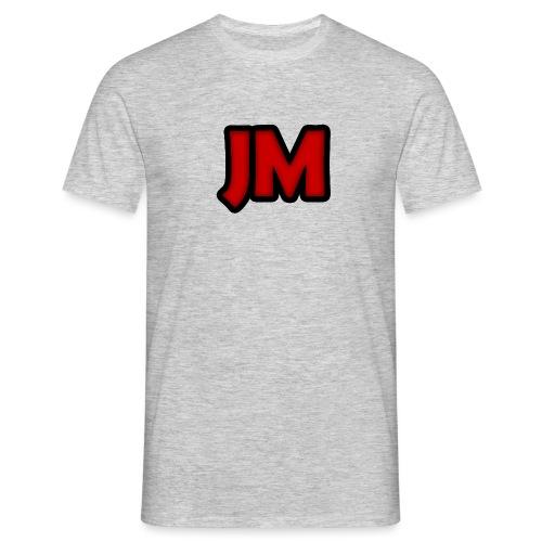 Classic 'JM' Logo T-Shirt - Men's T-Shirt