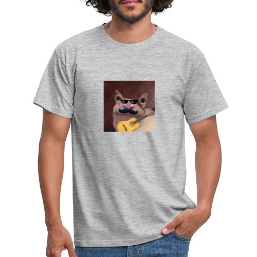 Guitarcat - T-shirt herr