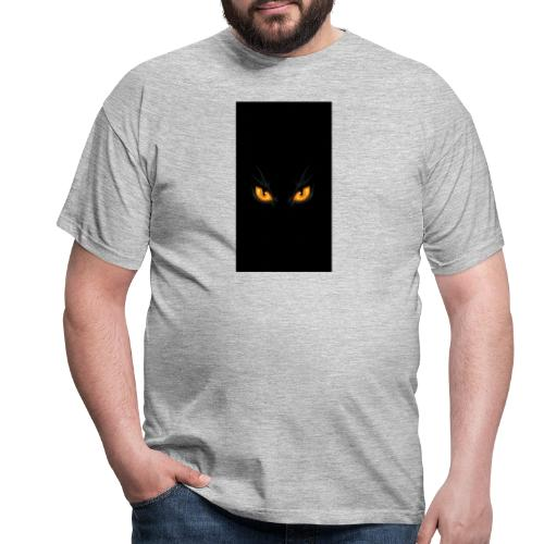 Black cat eye - Männer T-Shirt