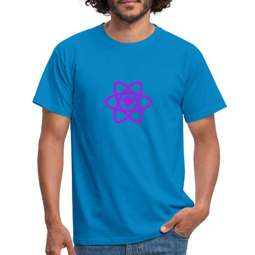 Sketch2React Purple Logo - Men's T-Shirt