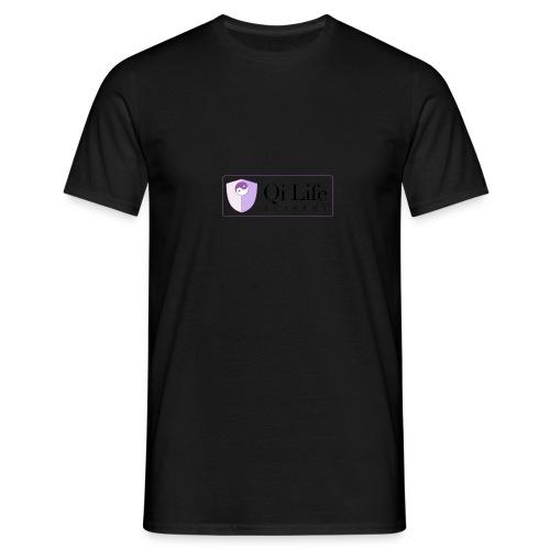 Qi Life Academy Promo Gear - Men's T-Shirt