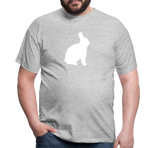 T-shirt personnalisable avec votre texte (lapin) - T-shirt Homme