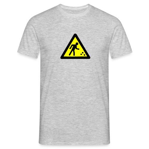 Petanque in Progress - Men's T-Shirt