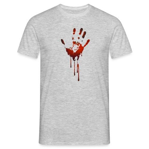 tænk dig om - Herre-T-shirt