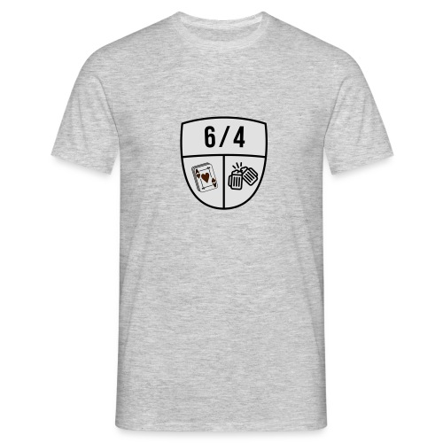 6/4 - Mannen T-shirt
