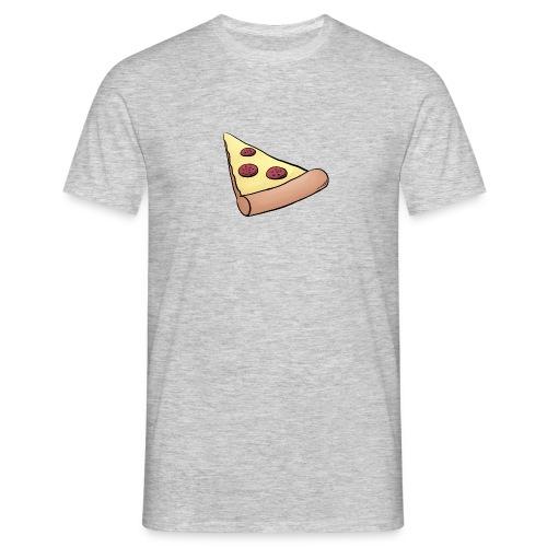 Pizzastück für Eltern-Baby-Partnerlook - Männer T-Shirt