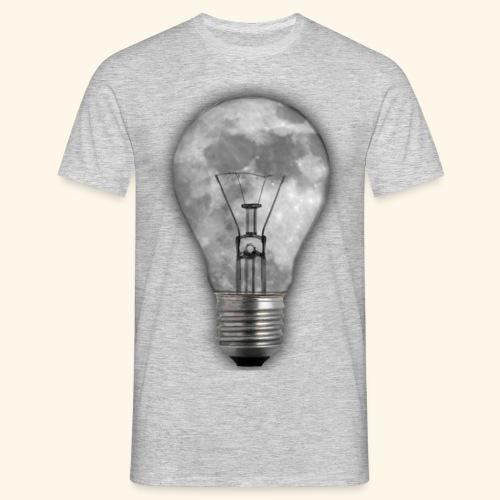moon bulb - Camiseta hombre