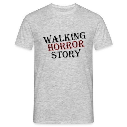 walking Horror story - Mannen T-shirt