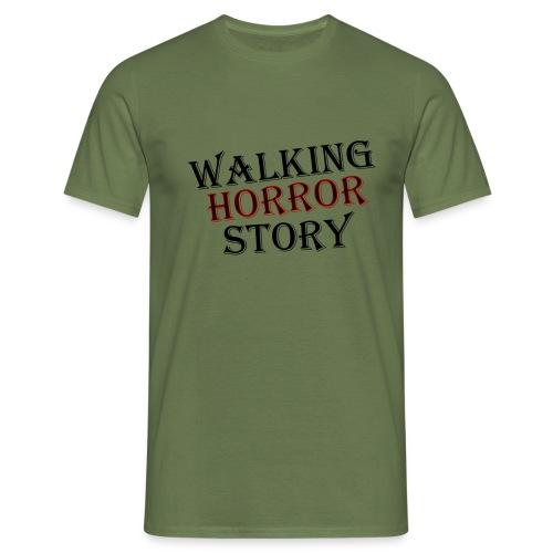 walking Horror story - Mannen T-shirt