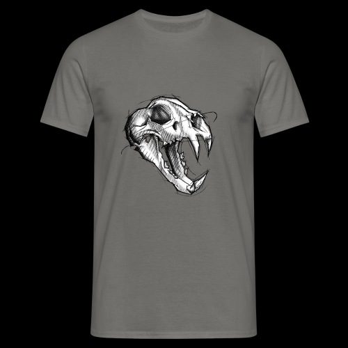 Teschio Tigre - Maglietta da uomo