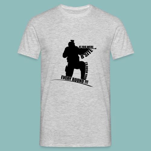 I'd rush you - Black Version - Männer T-Shirt