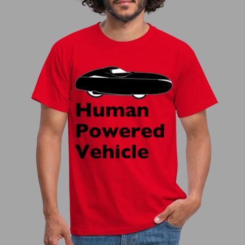 Quest Human Powered Vehicle 2 black - Miesten t-paita