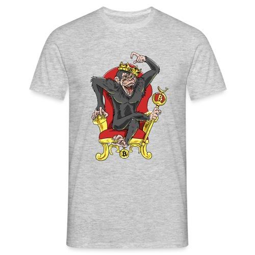 Bitcoin Monkey King - Beta Edition - Männer T-Shirt