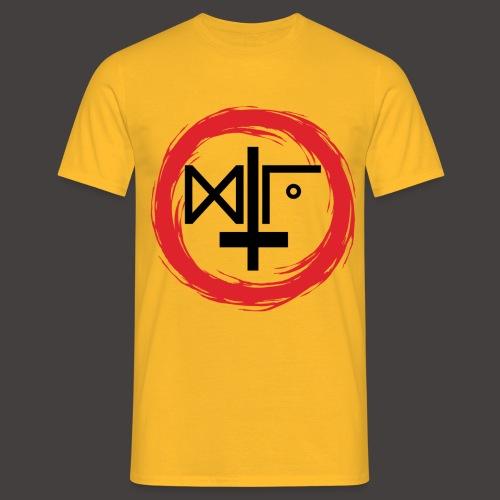 Logo Gu Croix Noir - T-shirt Homme