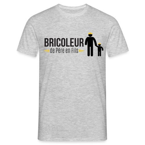BRICOLEUR DE PERE EN FILS - T-shirt Homme