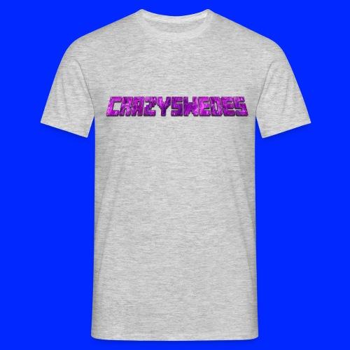 CrazySwedes PurpleThunder - T-shirt herr