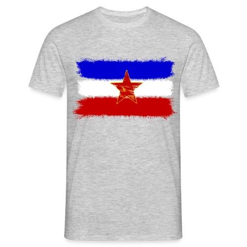 Jugoslawien Flagge - Männer T-Shirt
