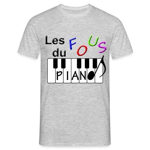Logo Fous du piano 3 - T-shirt Homme