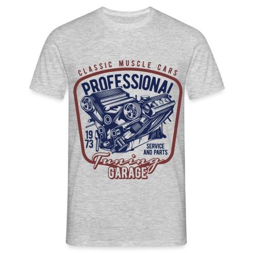 Muskelauto - Männer T-Shirt