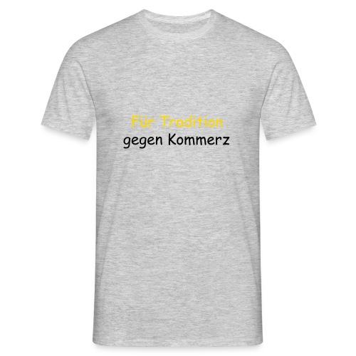 tradition - Männer T-Shirt