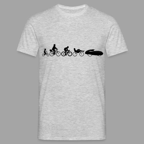 Bicycle evolution black - Miesten t-paita