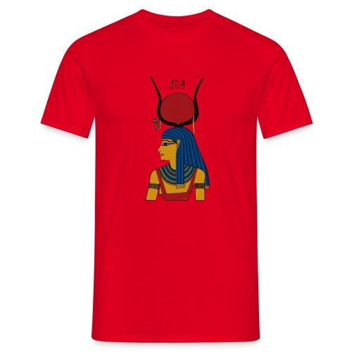 Isis - altägyptische Göttin - Männer T-Shirt