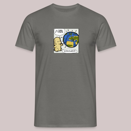 La terra è tonda - Maglietta da uomo