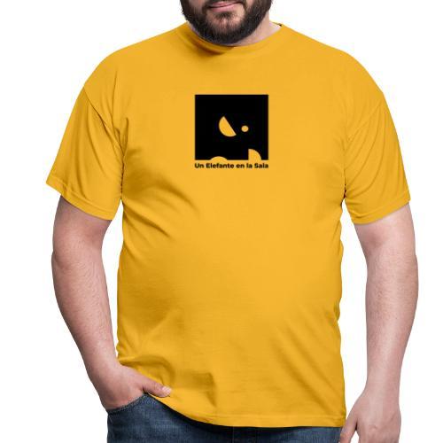 Logo Elefante Negro - Camiseta hombre
