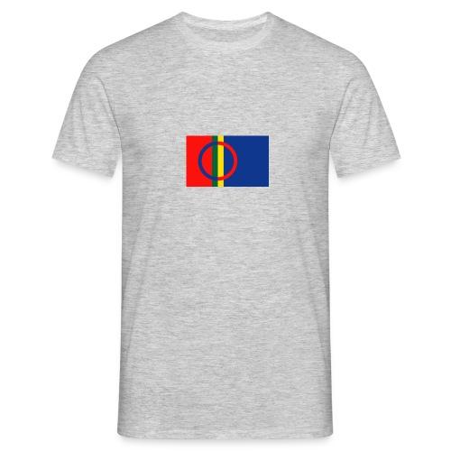 Samiska flaggan - T-shirt herr