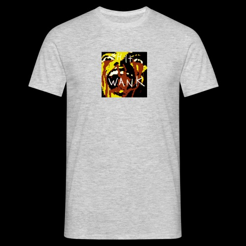 shit wank bank thank - Men's T-Shirt