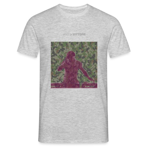ugo_and_vittore_camouflag - Men's T-Shirt