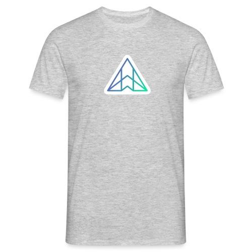Logo - Gradient on white - Men's T-Shirt