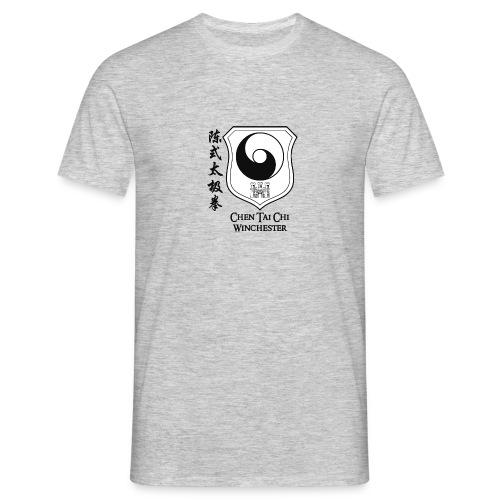Coat of arms black on white - Men's T-Shirt