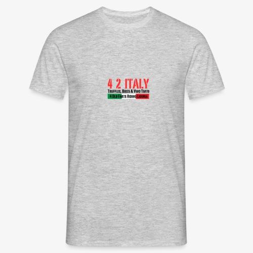 4 2 ITALY - Männer T-Shirt