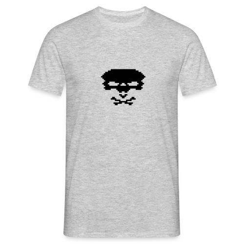 pixelskull - Männer T-Shirt