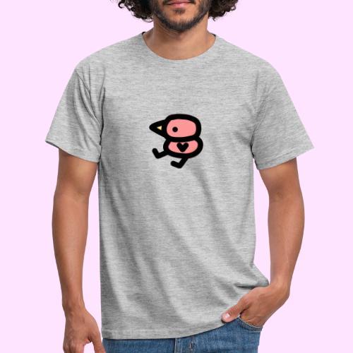Pinkguin Yogurt Color - Herre-T-shirt