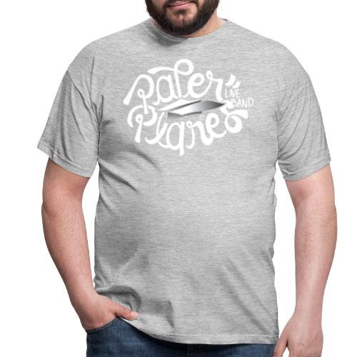 Paper Planes Logo Wit - Mannen T-shirt