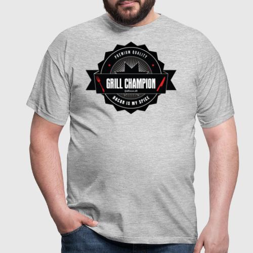 GRILL CHAMPION - Herre-T-shirt