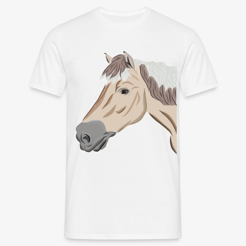 Fjord Pony - Männer T-Shirt