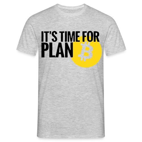 bitcoinlogotime - Men's T-Shirt
