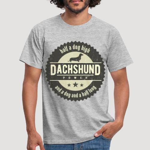 Dachshund Power - Mannen T-shirt