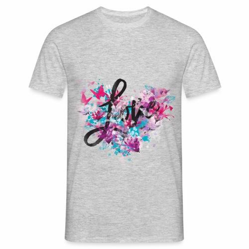 Love with Heart - Men's T-Shirt